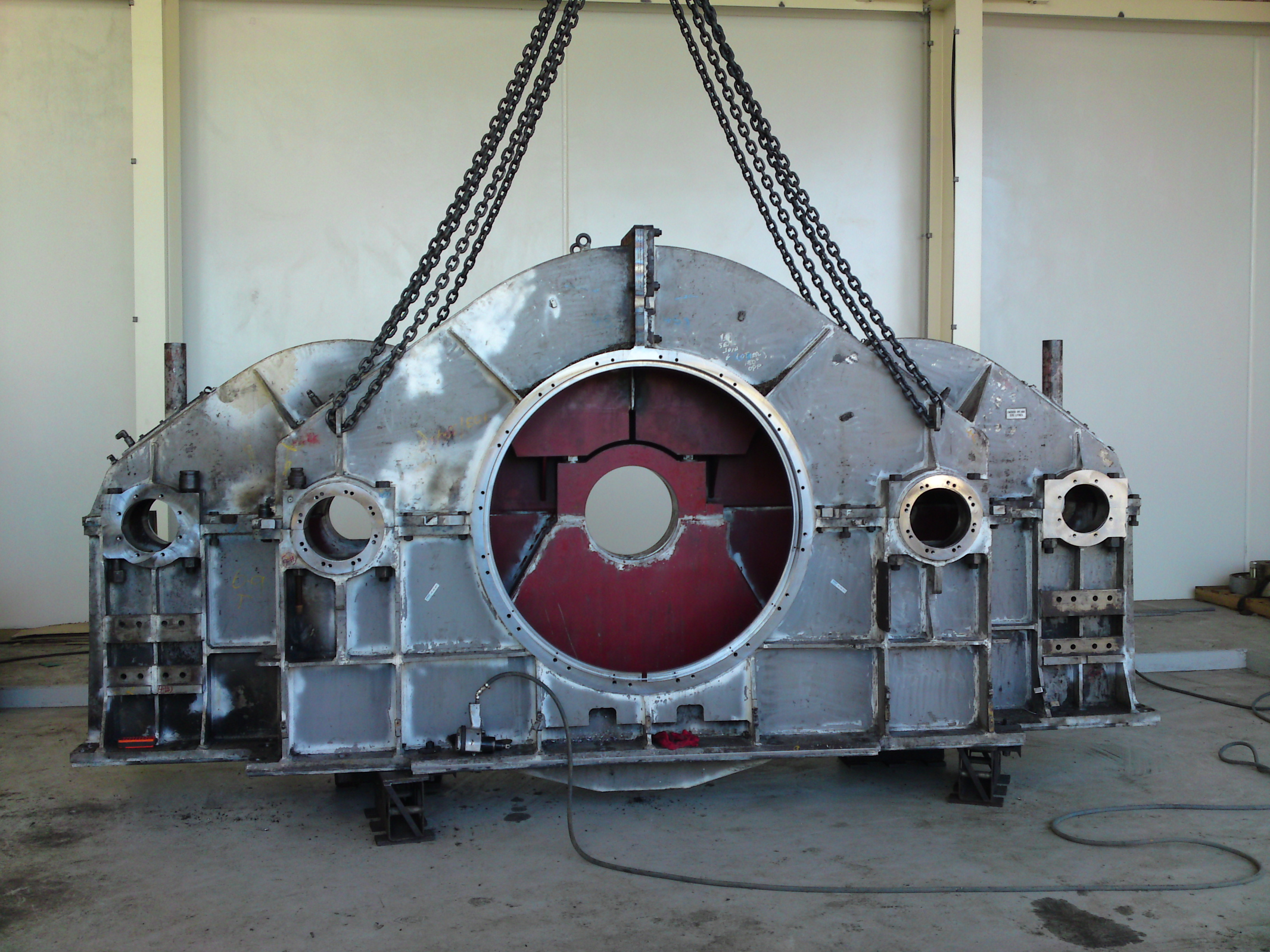 Dragline Gearbox Overhaul