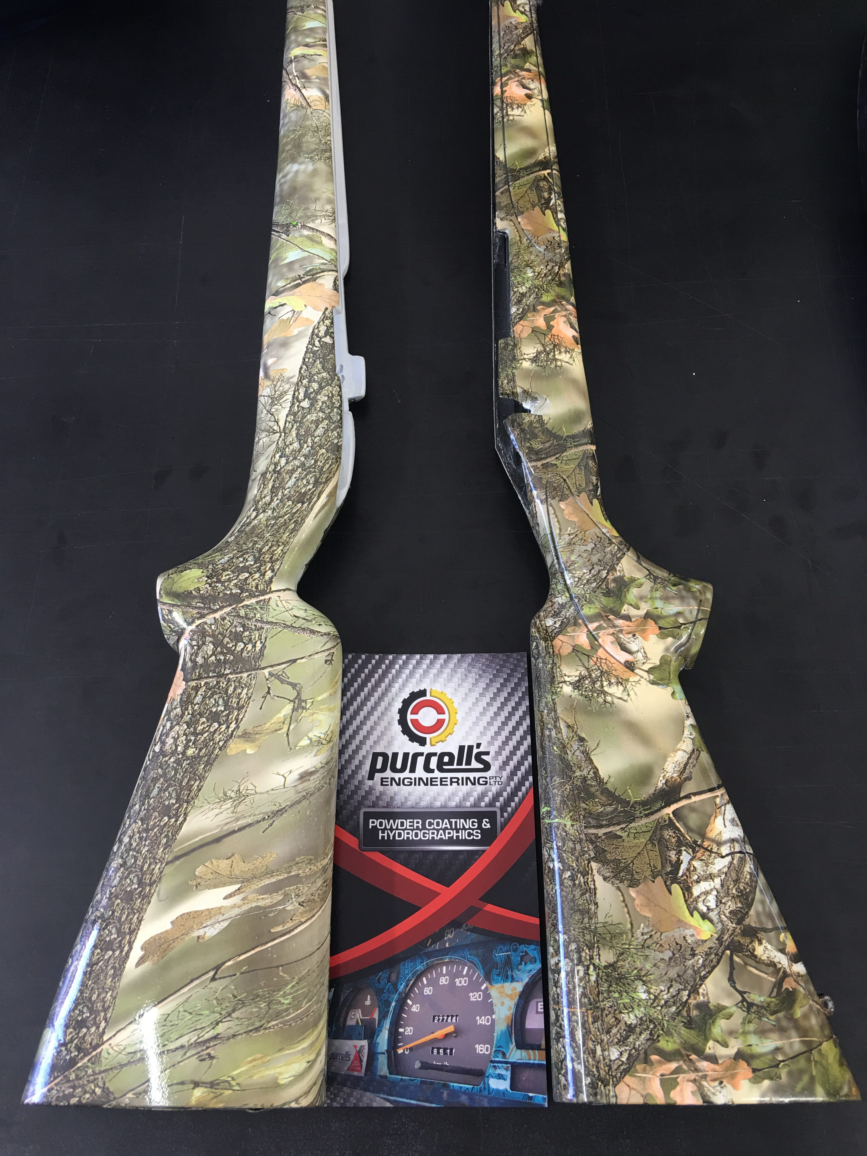 Gun Stocks - Autumn Camo