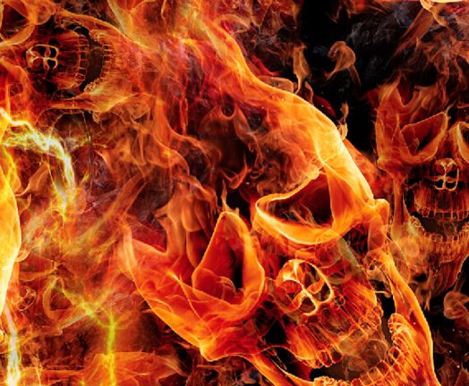 Wildfire Skulls