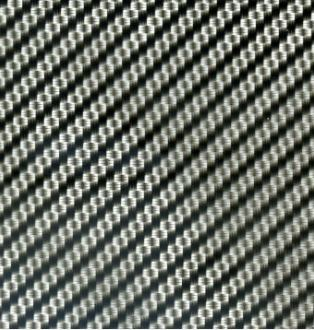Black Weaved Carbon Fibre