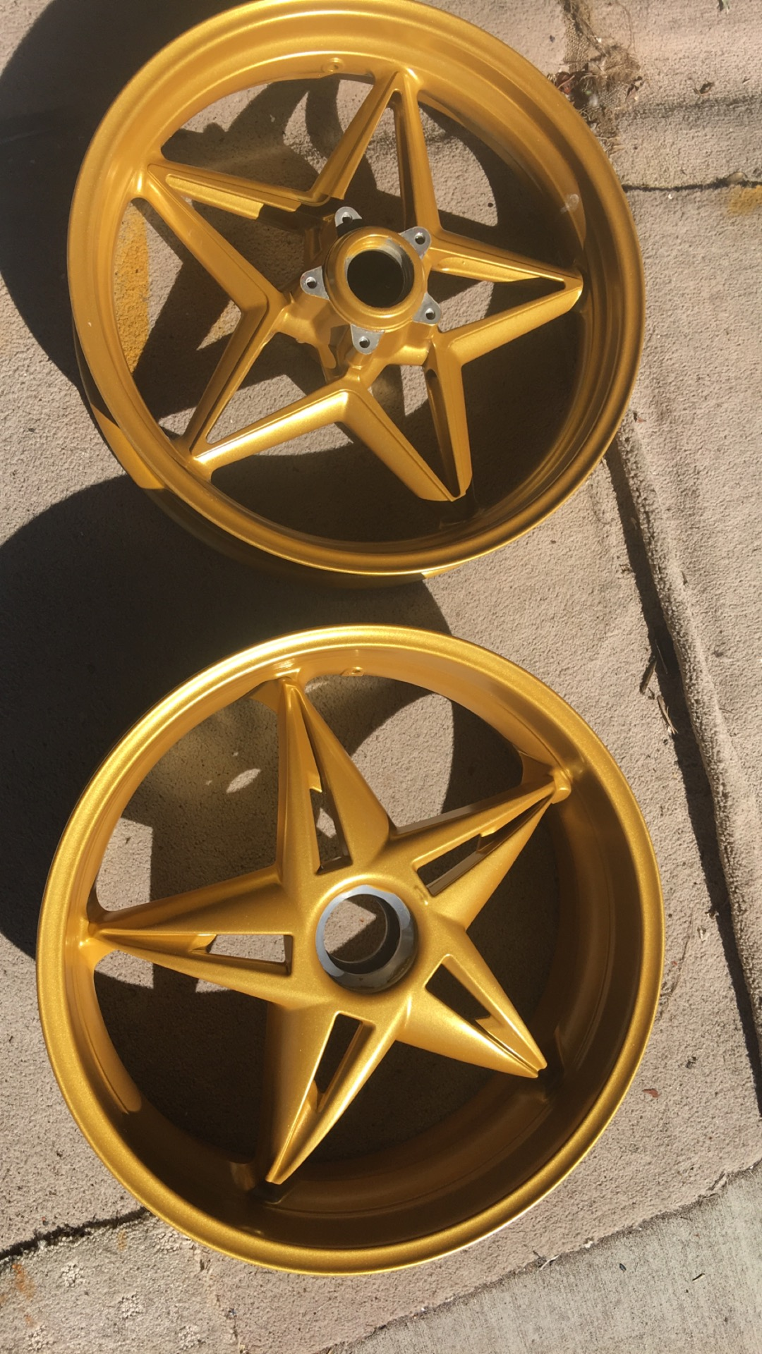 Bike Rims - Gold