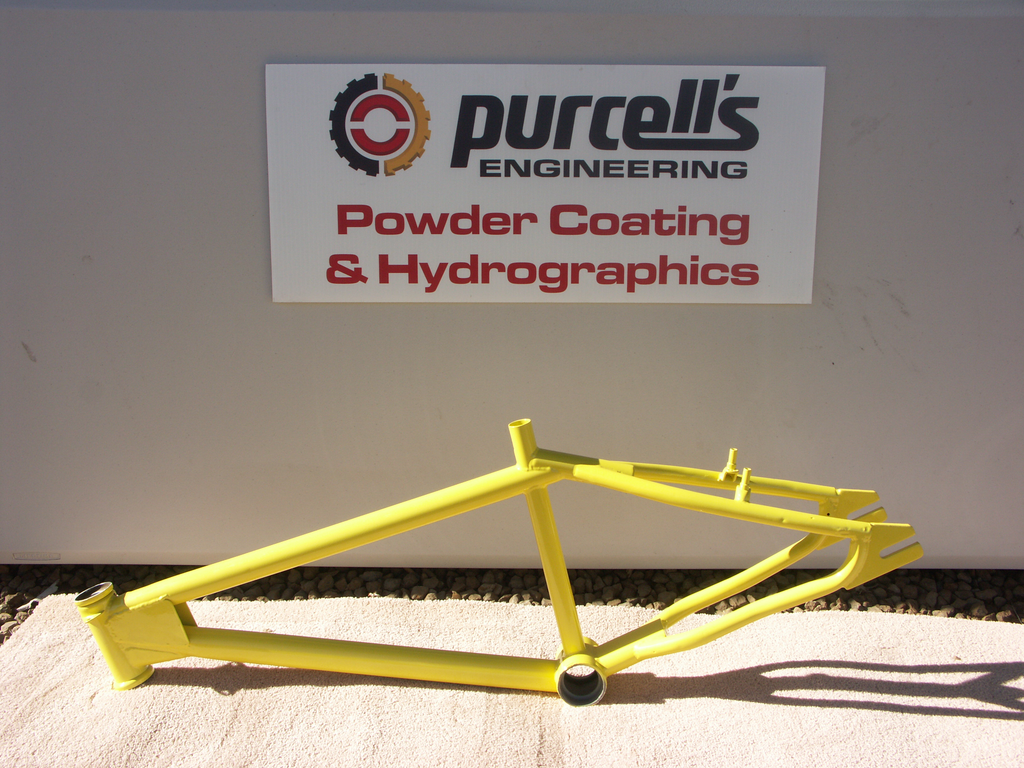 Bike Frame - Lemon Yellow