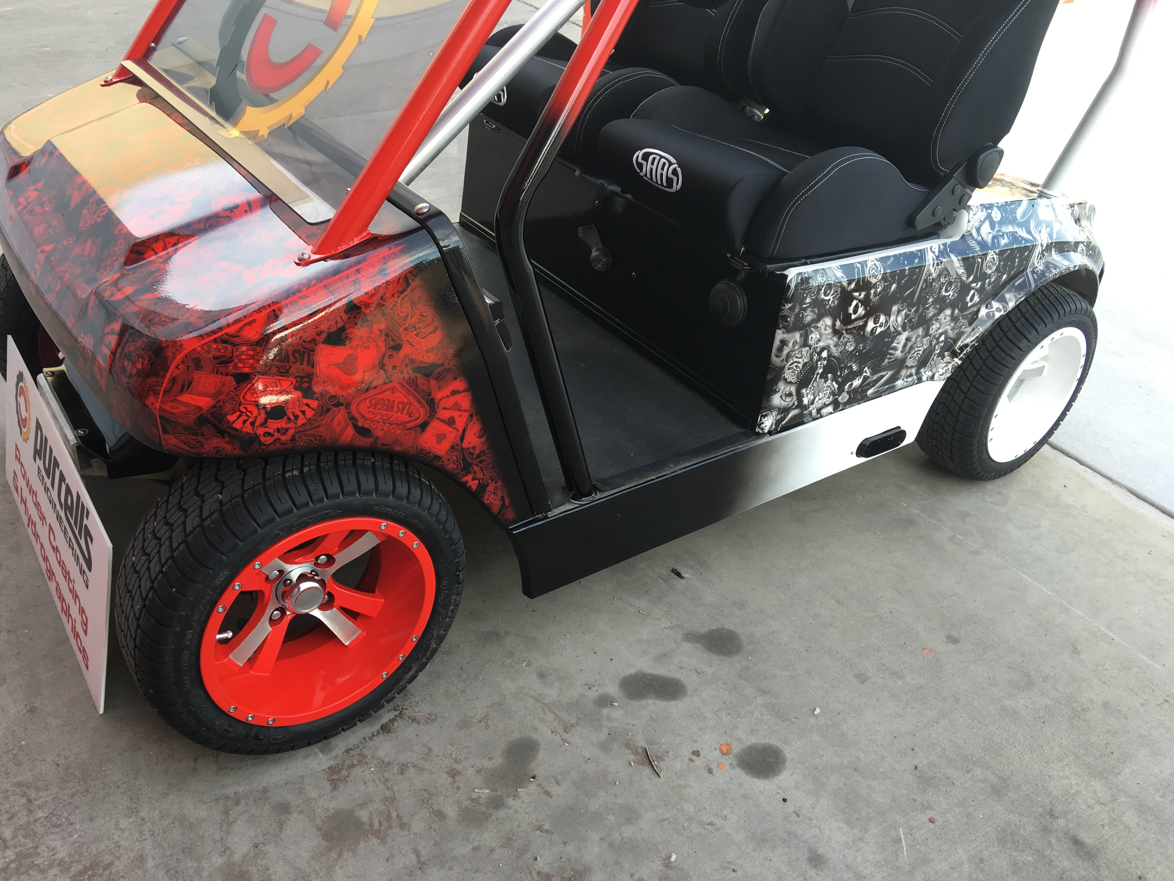 Fully Customized Golf Buggy